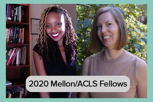 2020 Mellon/ACLS Fellows Dr. Treva Lindsey and Dr. Jennifer Suchland