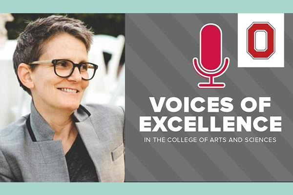 Dr. Winnubst and the Voices of Excellence Logo