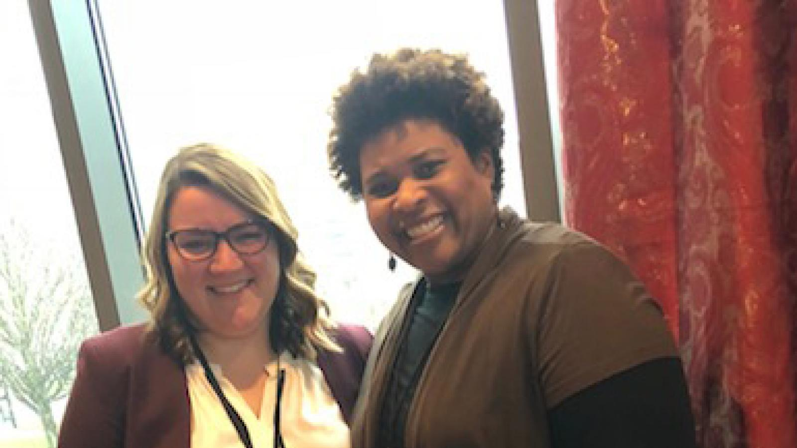 Masters Student Allison Susor and Dr. Wendy Smooth